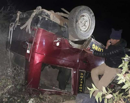 One dies in jeep accident in Khotang