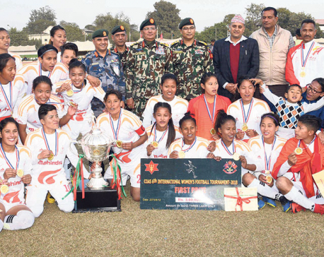 APF beats Army to win CoAS women's football