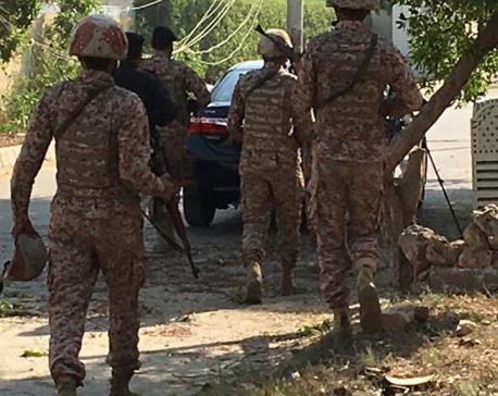 Gunmen storm Chinese Consulate in Pakistani city of Karachi