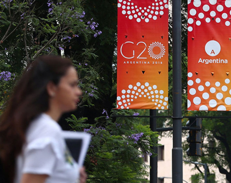 World leaders arrive in Buenos Aires ahead of tension-filled G20 summit