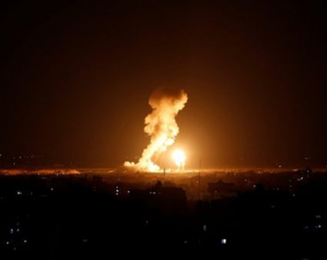 Ongoing Israeli airstrikes against Gaza kill 3 Palestinians