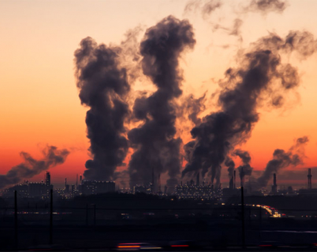 Greenhouse gases in air rose again in 2017