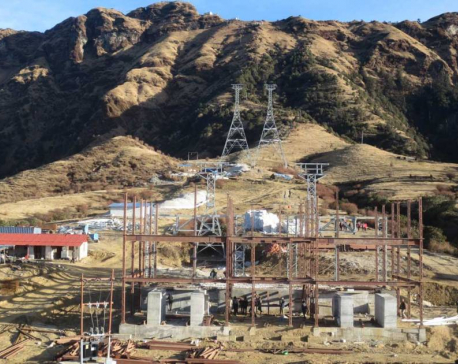 Kalinchowk cable car in operation