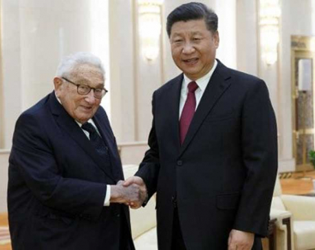 China: Xi Jinping hails Henry Kissinger in official meeting
