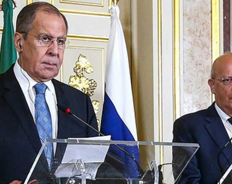 "Islamic State acting as US ""ally"" for regime change in Syria, suggests Lavrov"