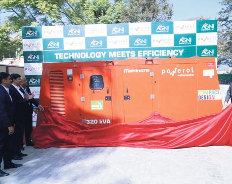 Mahindra launches diesel generators
