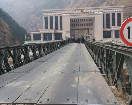 New Friendship Bridge in Rasuwagadhi within 6 months