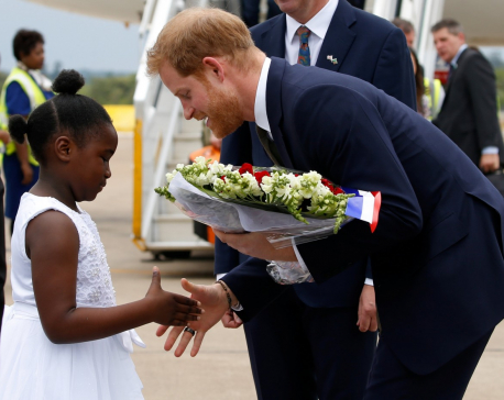 British Prince, Harry offers help to boost elephant numbers