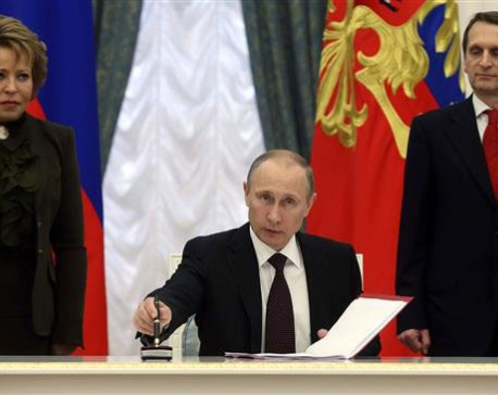 Putin endorses deal for Iran-EEU free trade zone