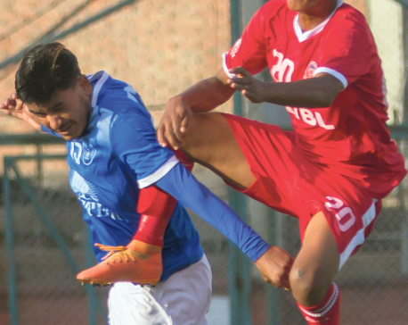 Himalaya Sherpa climbs to third, Friends holds Jawalakhel in six-goal thriller