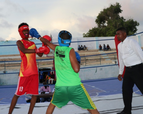 Somalia holds first boxing competition since civil war