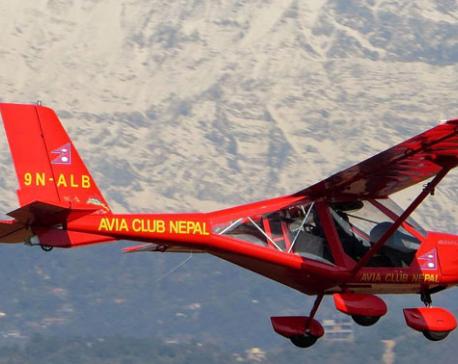 Ultralight aircraft makes safe landing despite technical glitches