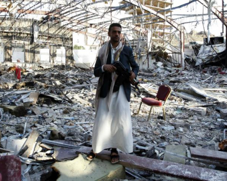 Saudi-led coalition airstrikes destroy UK aid in Yemen