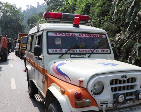 Ambulance caught in traffic jam, patient dies