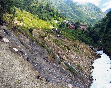 China begins repairing Araniko Highway