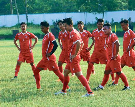 Task in hand for defending champion Nepal