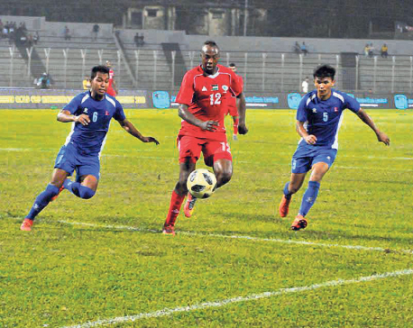 Holder Nepal crashes out of Bangabandhu Gold Cup with defeat to Palestine