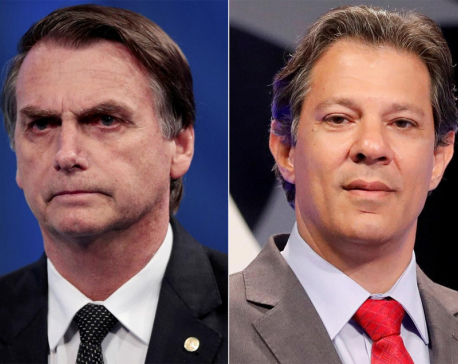 Far right, ex-military officer wins Brazil vote, faces leftist in runoff