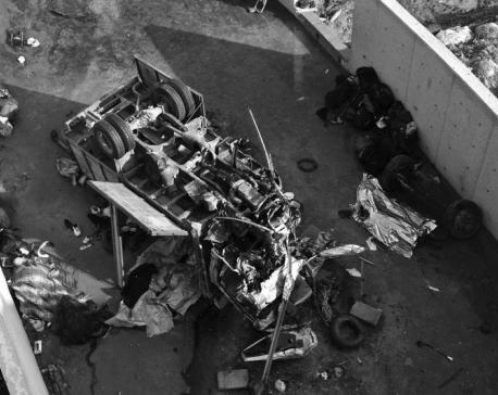22 migrants die in truck crash, 13 others injured