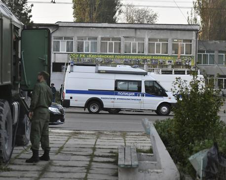 Manhunt in Crimea for possible accomplice in school attack