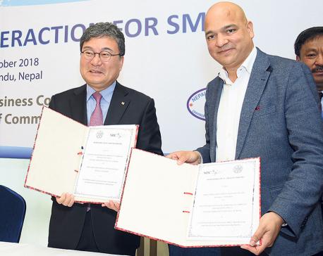 Nepali, S Korean business organizations ink MoU for SMEs development