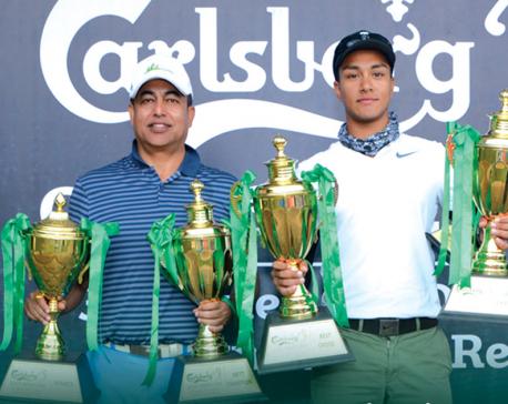 Karki, Malla win Carlsberg Golf Series 2018