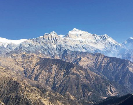 Mount Ghustung in Myagdi records first summit