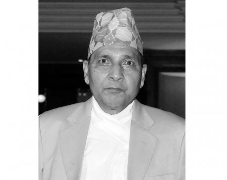 Nepali private media pioneer, NRM chairman Hemraj Gyawali passes away