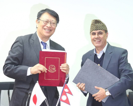 Japan extends grant aid for implementation of rehabilitation of Sindhuli road