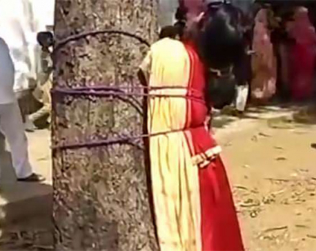 Muslim girl brutally thrashed for eloping with her Hindu lover