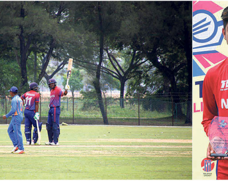 Khadka, Lamichhane propel Nepal to crushing win against Malaysia