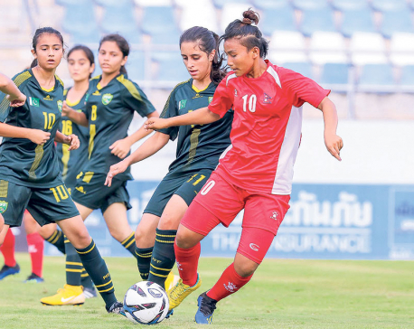 Nepal thrashes Pakistan 9-0 to push for possible qualification