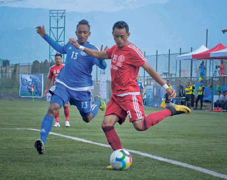 Ruchal's last minute winner ensures Sankata's win over poor Saraswati