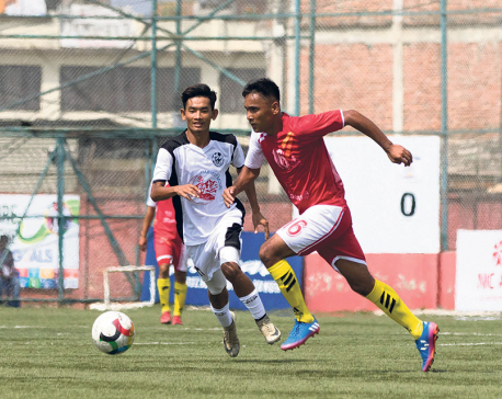 Olawale brace highlights superb Manang comeback; APF, Himalayan play a dull stalemate