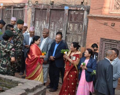 President performs pooja to mark Kojagrat Purnima