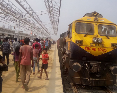 Train with 53 bogies carrying blast arrives in Janakpur