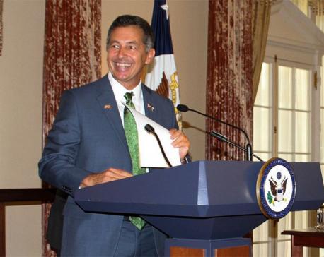 US ambassador skips govt's diplomatic briefing