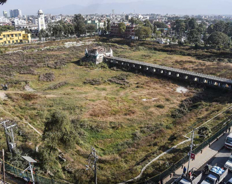 Ranipokhari's reconstruction begins after almost four years