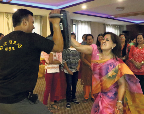 Empowering women through self-defense