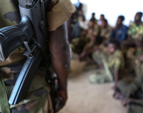 883 child soldiers freed by Nigerian militia fighting against Boko Haram