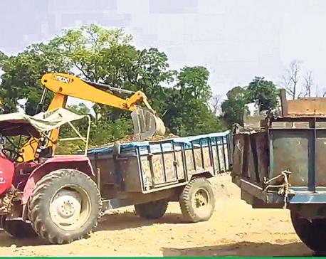Chure destruction escalates as local bodies award licenses