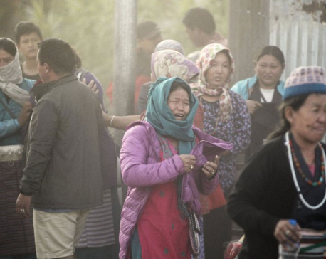 Recovery of Nepal climbers delayed by mountain's remoteness