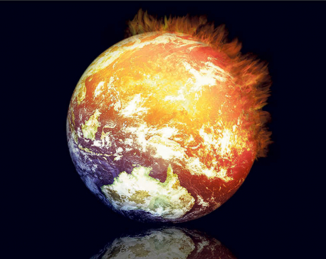 Foreseeing future of earth