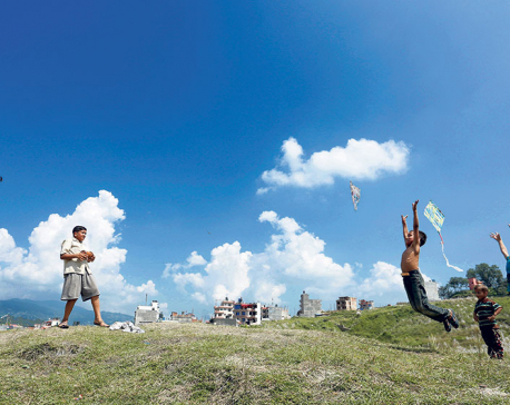The kite sellers of Kathmandu