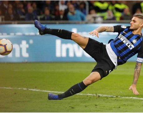 Icardi snatches stoppage-time winner for Inter in derby