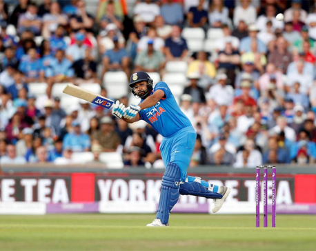 India's Kohli, Rohit steamroll West Indies with sparkling tons