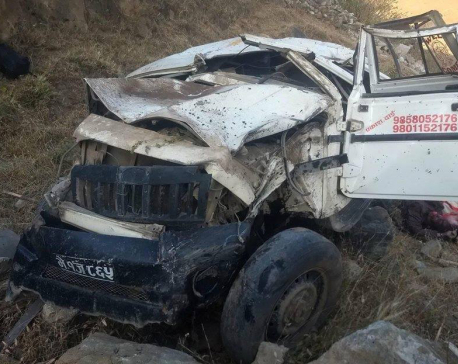 Three die as jeep veers 200 meters off the road in Jumla
