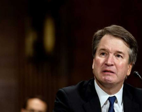 US Senate votes to advance Supreme Court nominee Kavanaugh