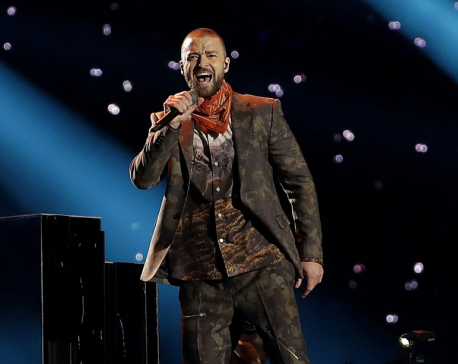 Timberlake postpones NYC show due to bruised vocal cords