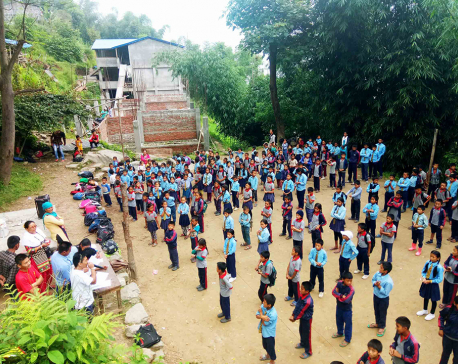 Khotang's first 'English' community school sets example